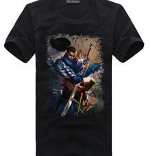 LOL graphic t shirt short sleeve men s t-shirt men summer shirts men tops Mens black tees Youth Teen