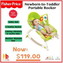 Fisher -Price  Newborn-to-Toddler Portable Rocker