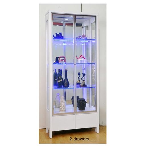 Qoo10 Display Cabinet Furniture Deco, Glass Display Cabinet Singapore