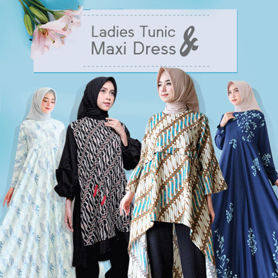 Tunik Batik Dress Jumbo Size xxxl Penguin series Deals for only Rp129.000 instead of Rp129.000