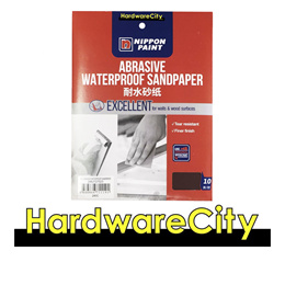 Nippon Paint Abrasive Waterproof Sandpaper - 10PC/Pack