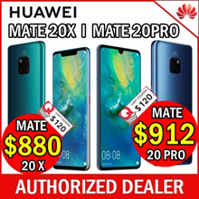Huawei Mate 20 X l Pro / Brand New Sealed / 6GB Ram 128GB / Local set / Local 2 year warranty