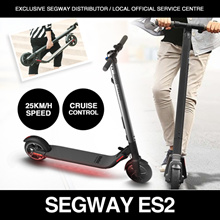 ★UL2272 certified LTA compliant Segway ES2★Exclusive Segway Distributor and Service Centre