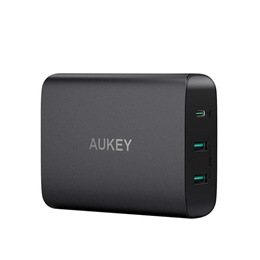 Aukey PA-Y12 60W USB-C Power Delivery 3.0 Charging Station with 2 USB-A Ports