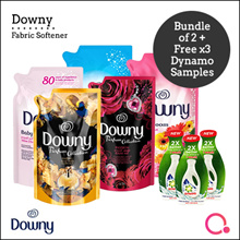 [PnG] FREE Dynamo Satchel TWIN BUNDLE Downy Fabric Softener Refill Pouch 1.5/1.6L
