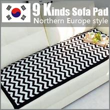 ★SOFA Pads★Made in KOREA/ Modern Style Sofa Carpet/ Sofa Seat Pad Mat/ Cotton 100%/ Living Room Deco