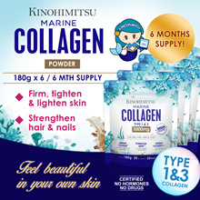 Kinohimitsu Marine Collagen 6mth supply [Collagen Type 1 n 3 Skin Joint] *Halal Certified* Fat Free