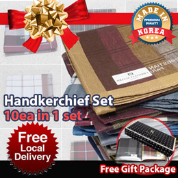 ★Local Delivery★6th Restock★Set of 10ea Handkerchief CNY Gift Package / Free Gift Packing