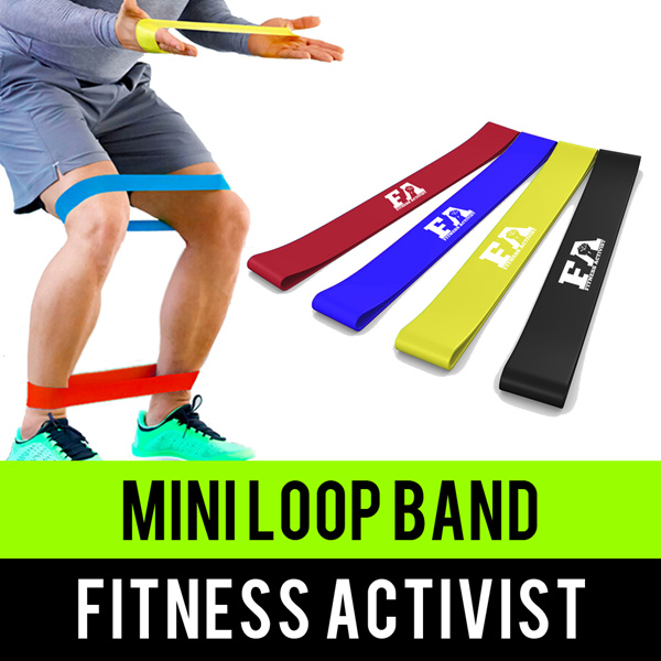Mini Resistance Loop BandsPremium Malaysian LatexSG Seller Deals for only S$9.99 instead of S$0