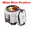 Mini Rice Cooker Multi Function With Timer - 2L