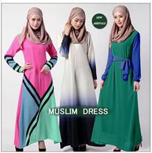 2016 New arrivals Muslims dress /plus size M-2XL /Jubah Dress /Hari Raya dress/traditional dress for muslimah best gift
