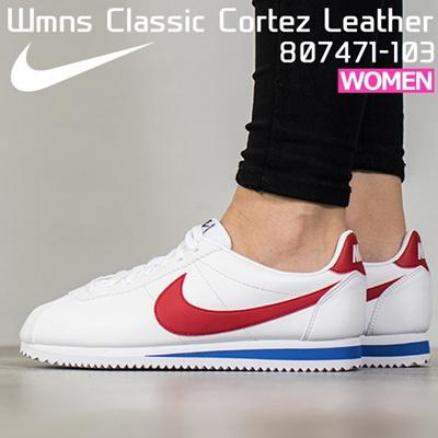 Nike sneakers running shoes women s classic cortez leather NIKE Wmns Classic  Cortez Leather 807471-103 ed50930c84
