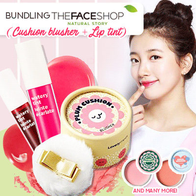 [THE FACE SHOP] Paket Pastel cushion Blusher Deals for only Rp120.000 instead of Rp120.000