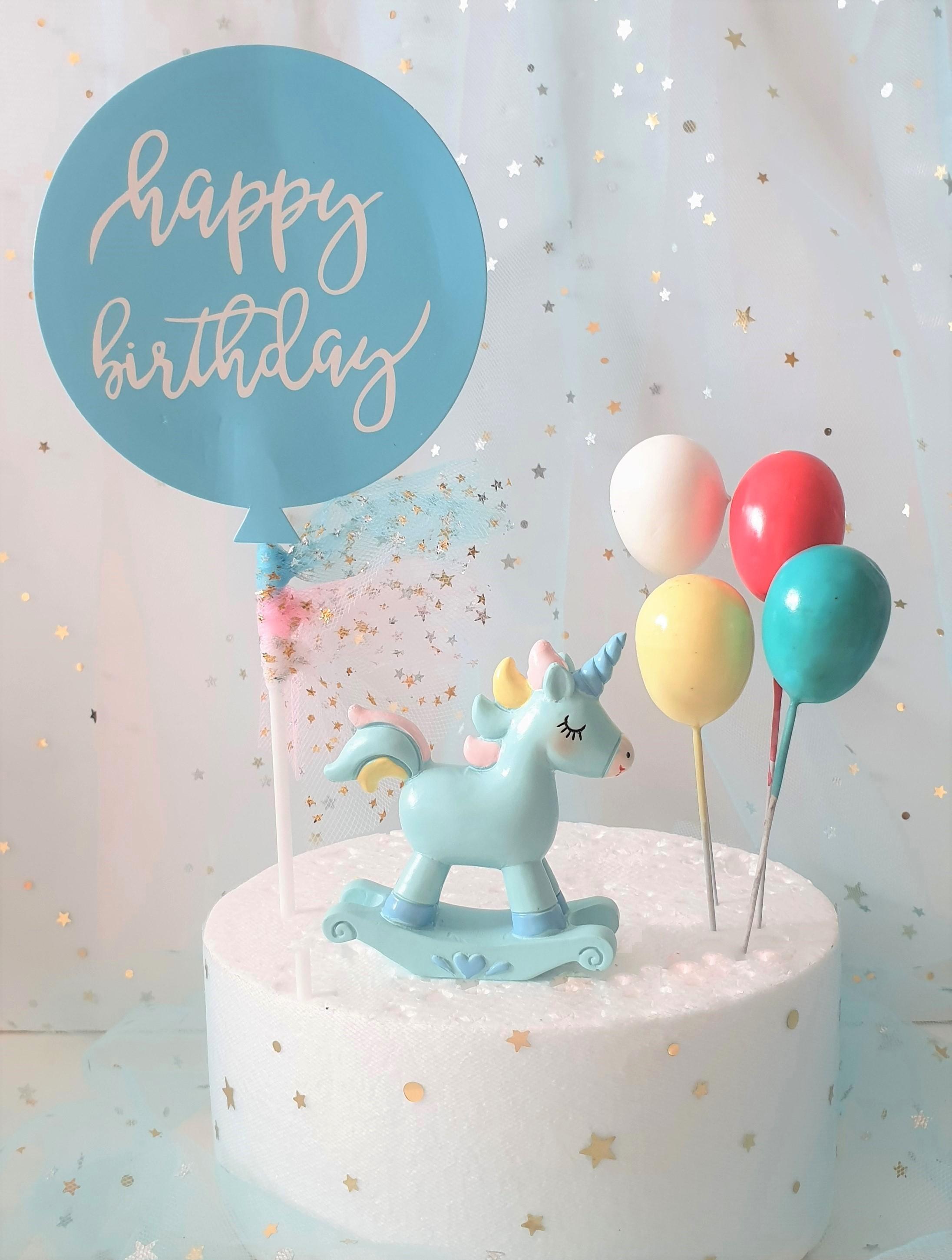 Qoo10 Birthday Cake Topper Furniture Deco