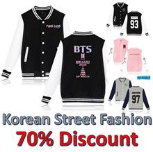 Korean Fashion BTS Bangtan Boys Baseball Jacket Unisex