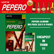 CLEARANCE!! 2 Box in 1 shipping!! Lotte Pepero Sticks -1 Big Box -PEPERO FLAVORED PACK 32g x 8 Pack