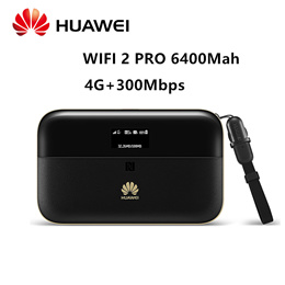 Huawei WiFi 2 Pro E5885Ls-93a Wireless Mobile Pocket WiFi Router with Ethernet Port support 6400mAh