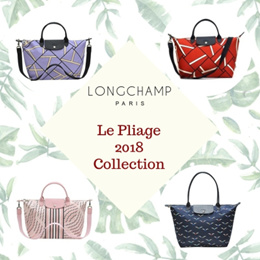 [LONGCHAMP COLLECTION 2018] 100% Authentic! Longchamp Collection 2018 and Le  Pliage Neo
