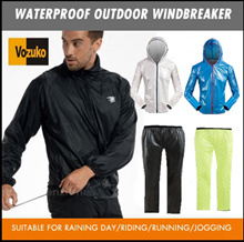 waterproof jacketpantsfor cycling outdoorwindbreakerhookrainprooffoldable small portable
