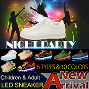 Sneakers/Light/LED/Shoes/Boots/LED shoes/USB charge/Snow boots/Canvas shoes/Plimsolls/Cony hair/PU/Noctilucent/Child shoes/Colorful lights/Paternity/Couple