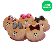 [LINE FRIENDS] CUSHION 30CM_ONLY CHOCO EDITION!!