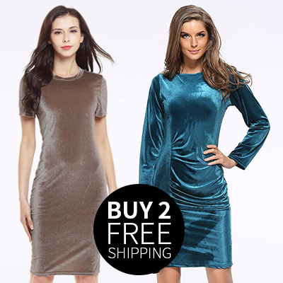 European and American summer and autumn new style of swan corduroy short sleeved dress pencil skirt