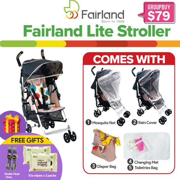 ?FAIRLAND? Lite Stroller Deals for only Rp809.200 instead of Rp2.074.870