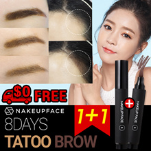 No.1 in Korea [Nakeup Face] ★1+1★8 Days Eye Tatoo Brow/EyeBrow Tint/Hair line/Brush/Mascara/Pencil
