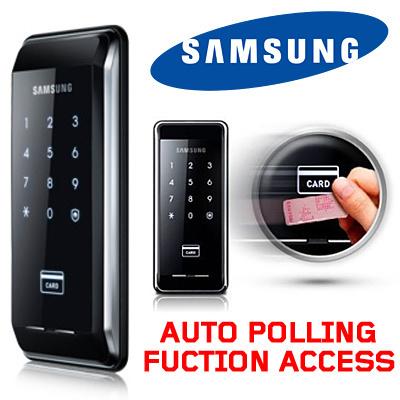 Samsung ezon shs-5120 digtial door lock+2 keytag+english manual.