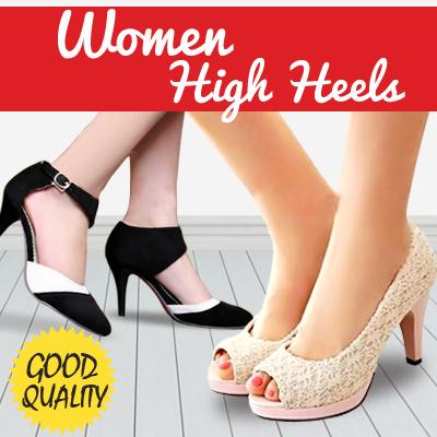HOT PROMO! Sepatu Wanita Model High Heels Modis f55e718710