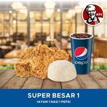 [FAST FOOD] KFC Paket Super Besar 1