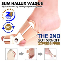 *Super sale*Big Toe Bunion Movable Day Night 24Hours Splint Straightener Slim Hallux Valgus
