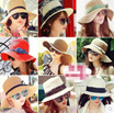 La Belle Summer HIT item: Korean style fashion straw hat [FLAT Shipping]