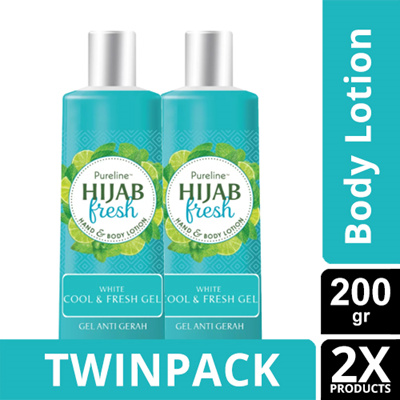 TWINPACK - PURELINE HIJAB FRESH COOL FRESH 200ML