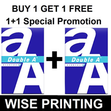 Double A A4 70gsm Copier Paper ( BUY 1 Ream GET 1 FREE ) Free Delivery