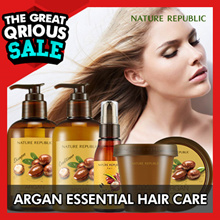 [NATURE REPUBLIC] Argan Essential Deep Care Series/ Shampoo/ Conditioner/ Hair Essence/ Hair Pack
