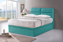 37cm Storage Height * Fabric Storage Bed Frame  * Free Upgrade Support Bar  * Color Choices
