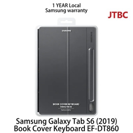 Original Samsung Galaxy Tab S6 (2019) Book Cover Keyboard EF-DT860 LOCAL (Avail Mid of Oct)