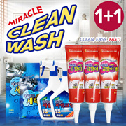 ★1+1★Miracle Mildew Gel Washing Machine Drainage Cleaner 99.9% removal/detergent SINGSINGMART