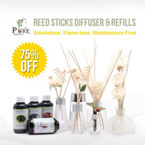 Reed Sticks Diffuser/ Reed Refills/ Aroma Reed Diffuser/ Rattan Reed Sticks/ Aromatherapy for Home