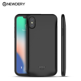 Newest hottest Power bank battery cover case 5000mAh for iPhone XR XS Max portable Backup charger