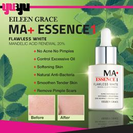 [EILEEN GRACE] MA+ Flawless White Mandelic Acid Renewal Essence ♥ STEP 1 ♥ Oily skin acne scars