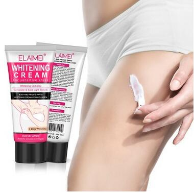 Intelligent 50ml Armpit Whitening Cream Beauty Body Cream Between Legs Knees Private Parts Underarm Whitening Formula Armpit Whitener Beauty & Health
