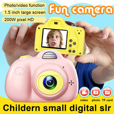 search. Mini LSR Cam Digital Camera for Kids Baby Cute Cartoon  Multifunction Toy Camera Children Xmas Gift af022e44f4