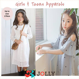 Teens Girls Princess Dress Tops Blouses Skirts Pants Apparels Kids Children (Weekly new collection)