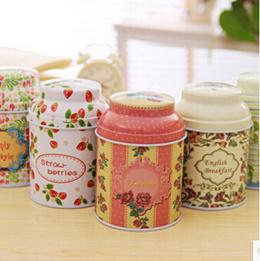 2pcs Korean food complex creative furniture wholesale tea leaf storage tank 5593 long funshop 001