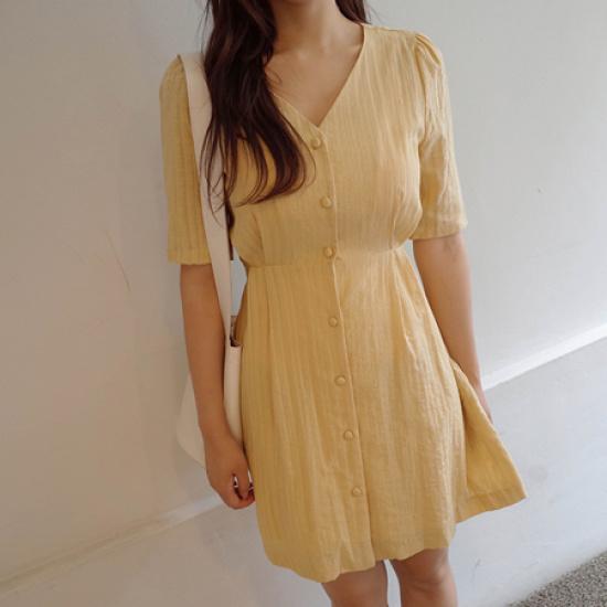 ミミ・アンド・ディディroya ops5103 綿ワンピース/ 韓国ファッション