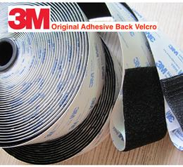 [3M Adhesive] Self Adhesive Velcro Tape Hook and Loop Type. Super Strong Original 3M Adhesive Back