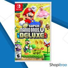 Nintendo Switch New Super Mario Bros. U Deluxe include Nabbit n Toadette as Playable Character Now!