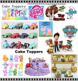 ★Gudetama★Trolls★ My Little Pony Figurine ★CAKE TOPPER★Pokemon ★Princess★Minions★Birthday